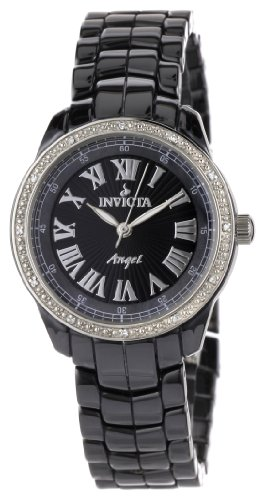 Invicta Women's 0725 Angel Collection Diamond-Accented Ceramic Watch