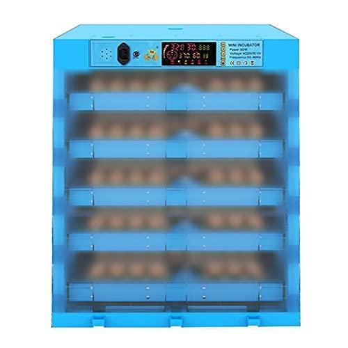 ZFF Pollo Incubadora De Huevos con Giro Automático Y Vela De Huevo 320 Huevos Grande Digital Aves De Corral Nacedora para Eclosión Codornices Pato Paloma Ganso Faisán Pájaro
