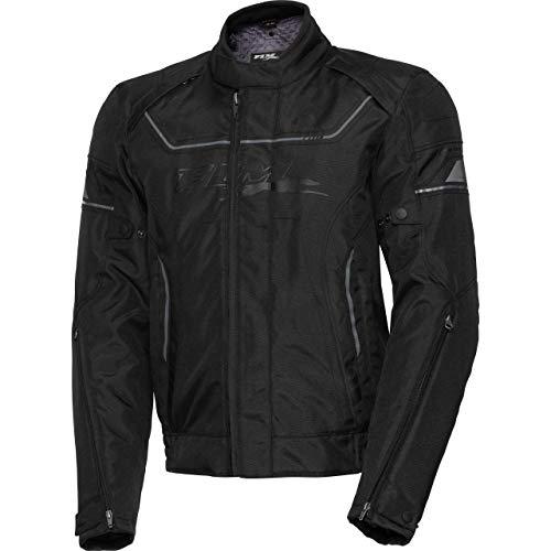 FLM Motorradjacke mit Protektoren Motorrad Jacke Sports Textiljacke 7.0 schwarz XL, Herren, Sportler, Ganzjährig, Polyester