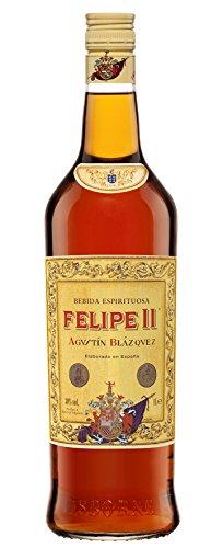 Felipe II Bebida Espirituosa elaborada a base de brandy de jerez 30º - 1 botella de 1L