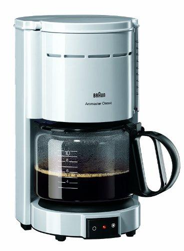 Braun KF 47 Kaffeeautomat Aromasterweiß