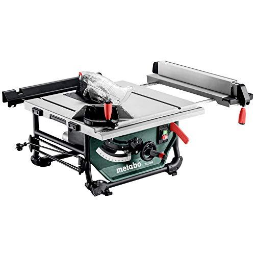 Metabo Tischkreissäge TS 254 M (610254000) Karton, Abmessungen: 669 x 748 x 334 mm, Arbeitshöhe: 334 mm, Schnitthöhe: 0 - 80 mm