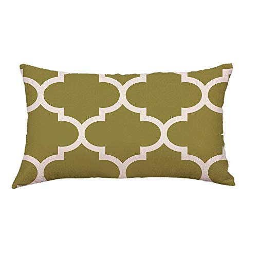 Aiserkly Federa per cuscino rettangolare con linee geometriche per divano, letto, decorazione per la casa, 30 cm x 50 cm, Multicolor-b, 30cm*50cm/12*20'