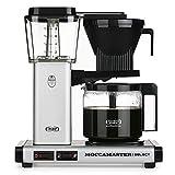 Moccamaster KBG Select Cafetera de filtro, 1520 W, 1.25 litros, Aluminio, Plata mate