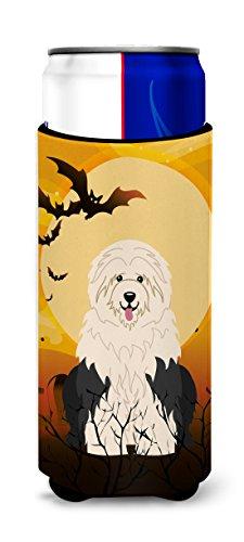 Caroline tesoros del bb4362muk Halloween Old perro pastor Ingls Michelob Ultra Hugger para Slim latas, multicolor