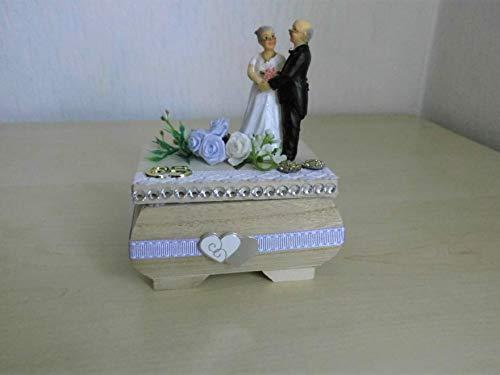 Eiserne Hochzeit - 65 Jahre Ehe Geschenk Geldgeschenk Geschenkbox
