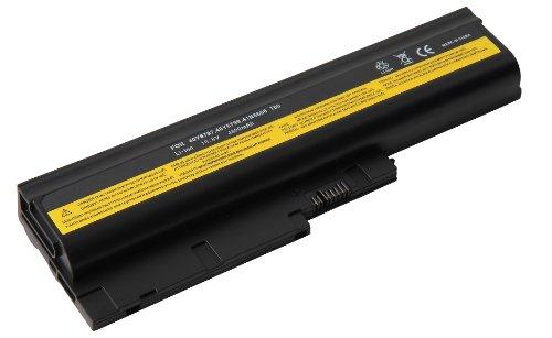 4800mAh Notebook portátil recambio de batería para IBM Lenovo Thinkpad R60 R60e R61 R61e R61i R500 T60 T60p T61 T61p SL300 SL400 SL500 T500 W500