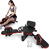 Popsport Pro Leg Stretcher 330LBS Leg Stretch Machine Heavy Duty Steel Frame Leg Stretcher Training Fitness Equipment Leg Stretcher for Home Gym