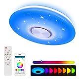 Nakeey LED Deckenleuchte mit Bluetooth Lautsprecher für Schlafzimmer Kinderzimmer Wohnzimmer,...