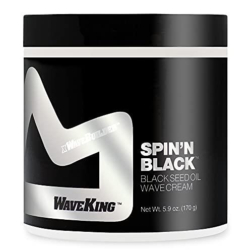 Wave King x Wavebuilder Spin'n Black Black Seed Oil Wave Cream