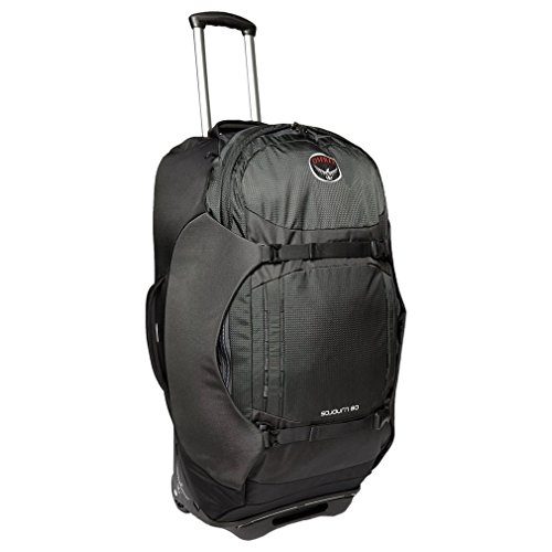 Osprey Sojourn 80 Litre Wheeled Convertible Holdall, Black, One Size