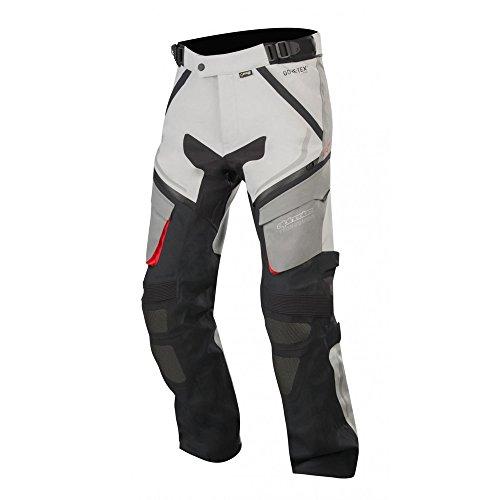 Alpinestars Motorradhose Revenant Gore-tex Pro Pants Black Mid Gray Anthracite Red, Grau/Schwarz/Rot, S