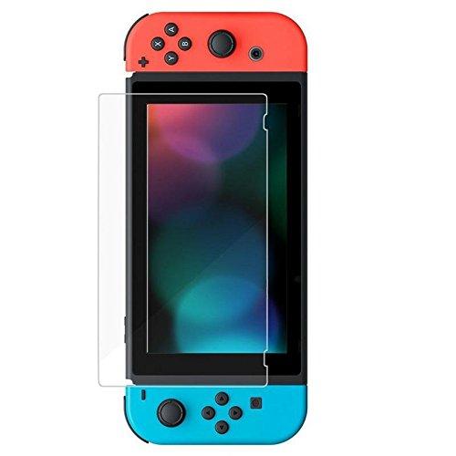 Brain Freezer J Tempered Glass Screen Protectors for Nintendo Switch 2017 (Transparent)