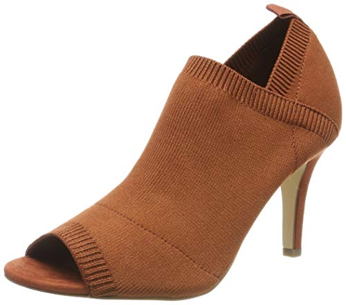 Tamaris Damen 1-1-28060-32 Peeptoe Pumps, Braun (Rust 443), 38 EU