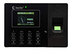 Time Office Fingerprint and Card Based Biometric Attendance System with Excel Report from Device(Black),Chiptronics Solutions,Z69