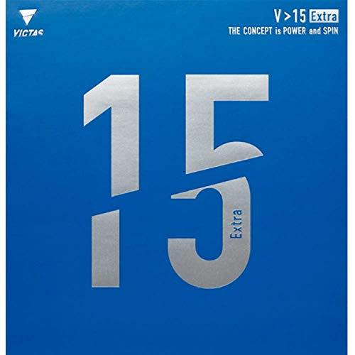 VICTAS Belag V 15 Extra Optionen 2,0 mm, rot