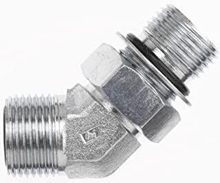 1//4 in Male JIC 37/° Flare x 1//4 in Female Japanese Industrial Standard 30/° Flare Straight Adapter Brennan 7 Units