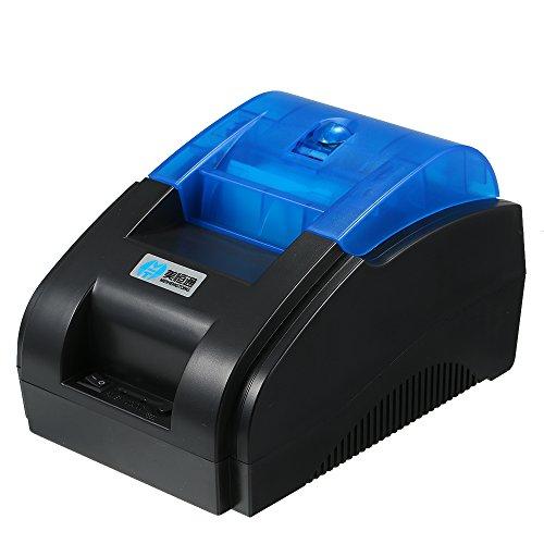 docooler Stampante Termica Adesiva dell'Etichetta Adesiva del codice a Barre dell'autoadesivo del codice a Barre di Alta qualità di BT QR 58mm