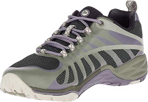 Merrell Women's Siren Edge Q2 Hiking Shoes (9 M US, Vertiver/Shark)