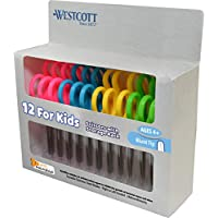 12-Pack Westcott Anti-Microbial Protection Scissors