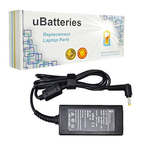 UBatteries Compatible 19V 2.37A 45W AC Adapter Replacement for Toshiba Tablet Thrive AT100 AT105 / Toshiba ChromeBook CB30 CB30-A CB35 CB35-A CB35-B CB35-C LAC-TO22 Series