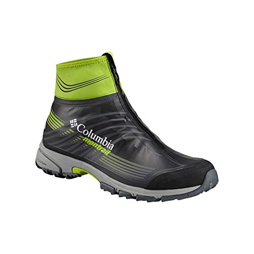 Columbia Mountain Masochist 4 Outdry Extreme – Zapatillas trail para hombre, (Black Bright Green), 43 EU