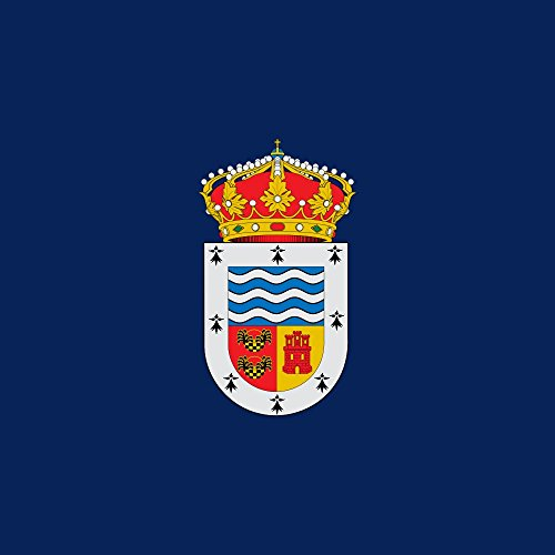 magFlags Bandera Large Municipal de Abia de Las Torres Palencia | 1.35m² | 120x120cm