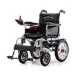 NACHENW Selbstfahrender Klapprollstuhl Leichtes Mobilitätsgerät für ältere, behinderte, hemiplegische Patienten,Schwarz -