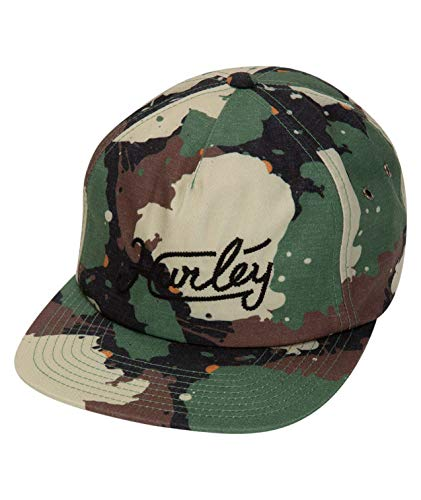Hurley M East Side Hat Gorras, Hombre, Camo Green, 1SIZE