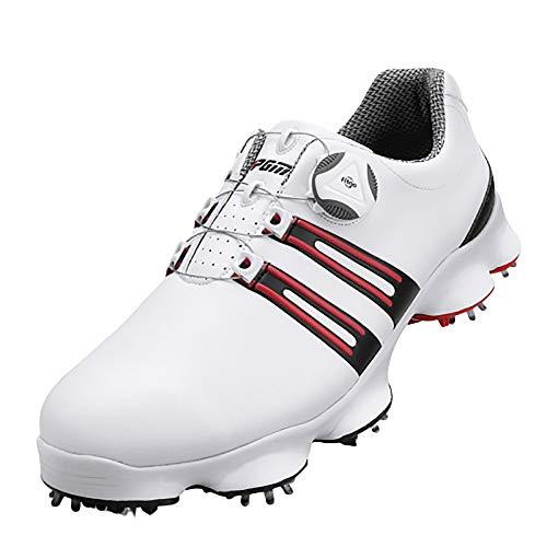 PGM Chaussures de Golf pour Hommes Baskets antidérapantes...