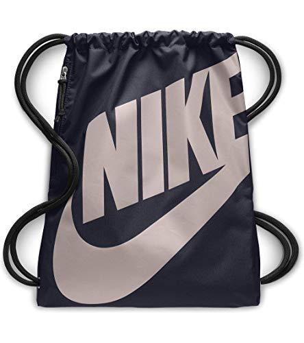 Nike Unisex-Erwachsene NK Heritage GMSK Turnbeutel, blau (Obsidian/Particle Rose)