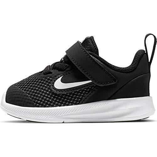 Nike Kids Flex Contact 3 (Infant/Toddler) Black/White 4 Toddler