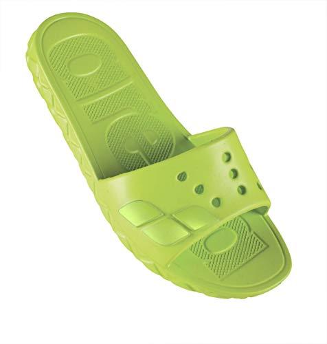 ARENA Junior Sandalen für Kinder, wasserabweisend, Jugend Unisex, 001457, Limettengrün, 34-35