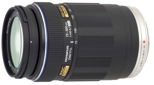 Olympus EZ-M7530 M.Zuiko Digital 75-300mm 1:4.8-6.7 Objektiv (Micro Four Thirds, 58 mm Filtergewinde) schwarz