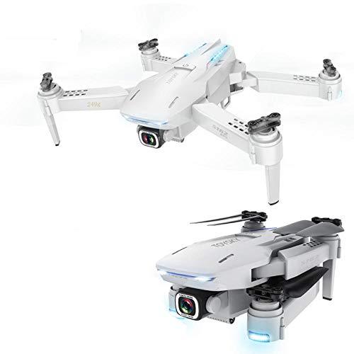 YWXFX Nuovo Drone GPS Rc con Mini Zoom 4K 50X Fotocamera Drone Regolabile WiFi Grandangolo FPV Rc Quadricottero Dron Vs S167 Sg907-4K (con Borsa)