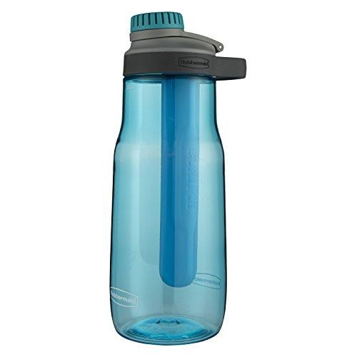 Rubbermaid 2000780 Chug Bottle, Tritan, Aqua Waters
