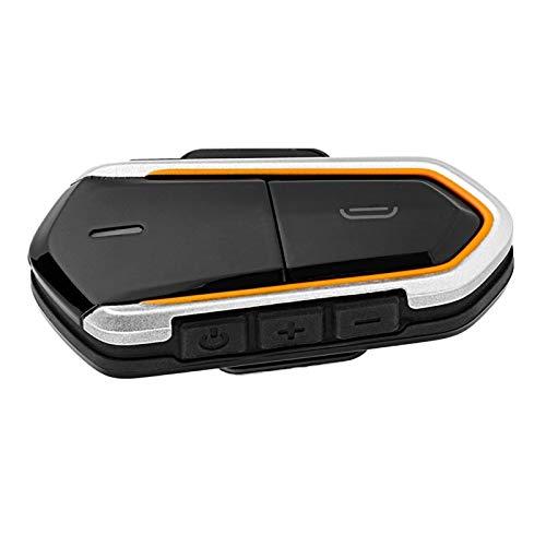 Auriculares de música estéreo, casco Bluetooth dúplex completo Walkie Talkie auricular intercomunicador FM