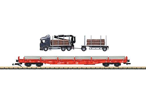 LGB 45921 - Rungenwagen-Set Deutschen Bundesbahn
