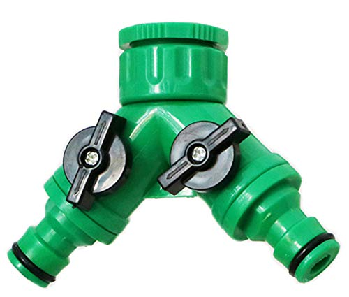 2-Wege-Y-Schlauchanschluss, Schlauchteiler, Schnellanschluss-Schlauchrohradapteranschluss für die Bewässerung zu Hause und im Garten Bewässerung & Schlauchsysteme