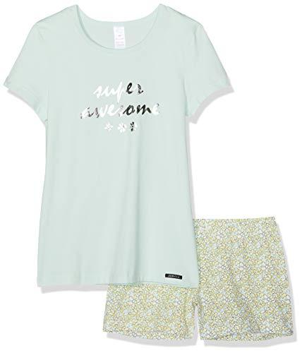 Skiny Mädchen Cosy Night Sleep Girls Pyjama kurz Zweiteiliger Schlafanzug, Mehrfarbig (Soothing sea 2160), (Herstellergröße:164)