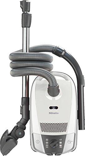 Miele Compact C2 Allergy Ecoline Aspirapolvere, 550 watts, 3.5 litri, 71 decibels, Bianco Loto