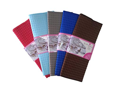 Right Products Microfiber Dish Drying and Kitchen Countertop Mat, 36 x 54 cm (Random Colour)