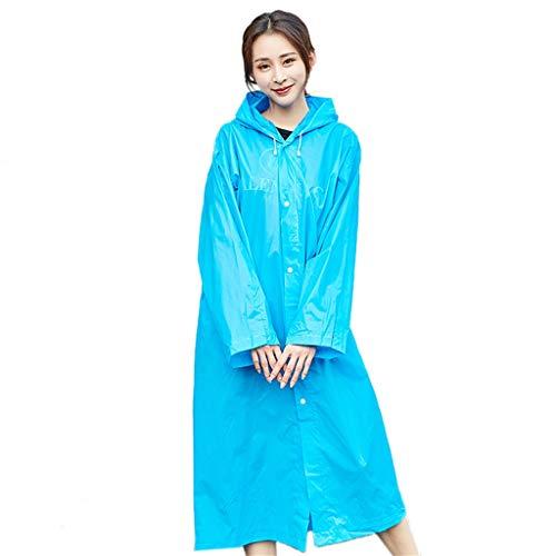 qwert Waterdichte Herbruikbare Regenjas, Lichtgewicht Duurzaam, Volwassenen Mannen Dames, Regenjas voor Fietsen Camping Wandelen