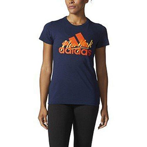 adidas Camiseta gráfica para mujer - F17AXGW500, Camiseta gráfica, S, NYC