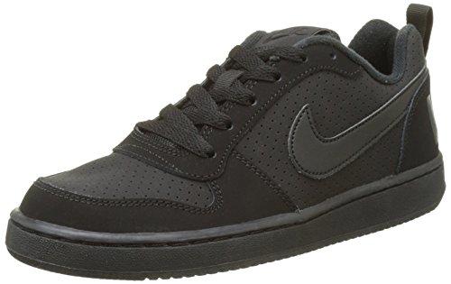 Nike Court Borough Low (GS), Zapatillas de Baloncesto para Niños, Negro (Black 001), 38.5 EU