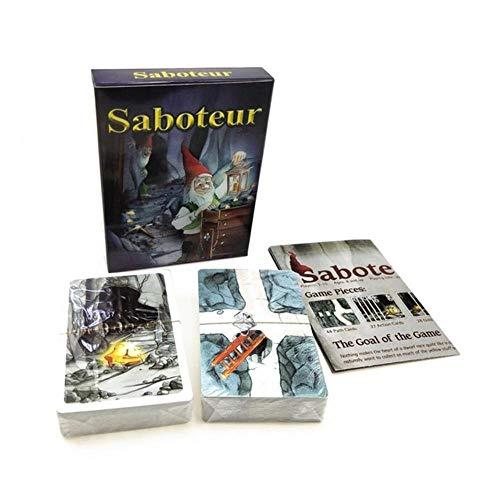 keke Saboteur Kartenspiel Tarotkarten Englische Version Deck Tarot Oracle Brettspiele Divination Fate Party, Saboteur Kartenspiel