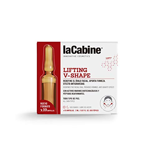 La Cabine Ampollas Lifting V-Shape 10 X 2 Ml - 1 Unidad