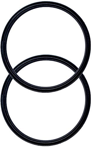 Pack of 2-30 oz Replacement Rubber Lid Ring, Gasket Seals, Lid for...
