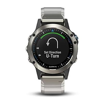 Garmin quatix 5 Sapphire Marine Smartwatch (Stainless Steel with Metal Band)