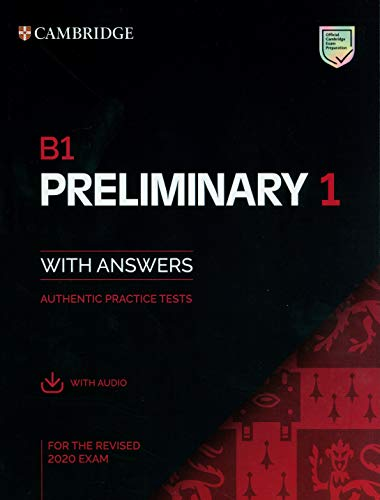 B1 preliminary 1 with answers PET Practice Tests